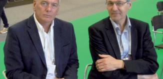 Dr Michel Bodin et Pr Bernard Bannwarth à l'EULAR
