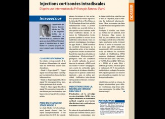 Injections cortisonées intradiscales