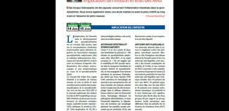 Spondyloarthrite - Implication de l'intestin et effet des AINS