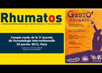 Compte rendu de la 3e journée de rhumatologie interventionnelle : 24 janvier 2015, Paris